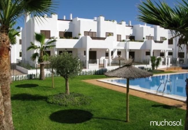 Bungalow de 2 habitaciones a 200 m de la playa en San Juan de los terreros - Ref. 76225-20