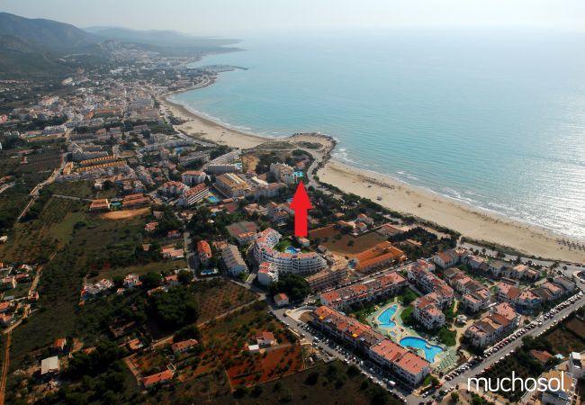 Apartamento en Alcoceber en primera línea de playa - Ref. 77722-13