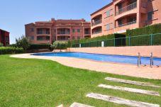 Apartamento con piscina en Ametlla de Mar