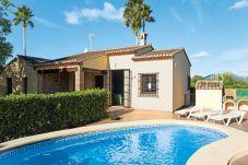 Villa en Jalón / Xaló para 4 personas con 2 habitaciones
