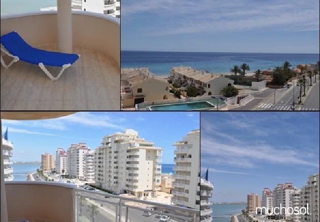 Apartamento con piscina en la Manga del Mar Menor - Ref. 57989-4