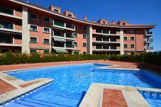 Apartamento con piscina en Sanxenxo