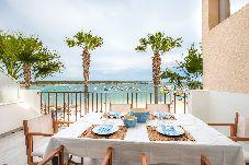 Villa en primera línea de playa de Ses Salines